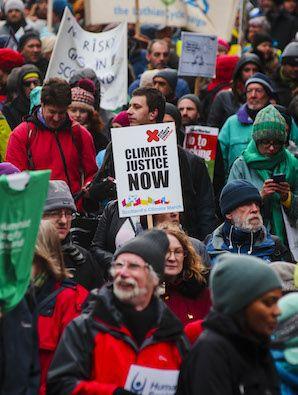 Scotland's Climate March, November 2015