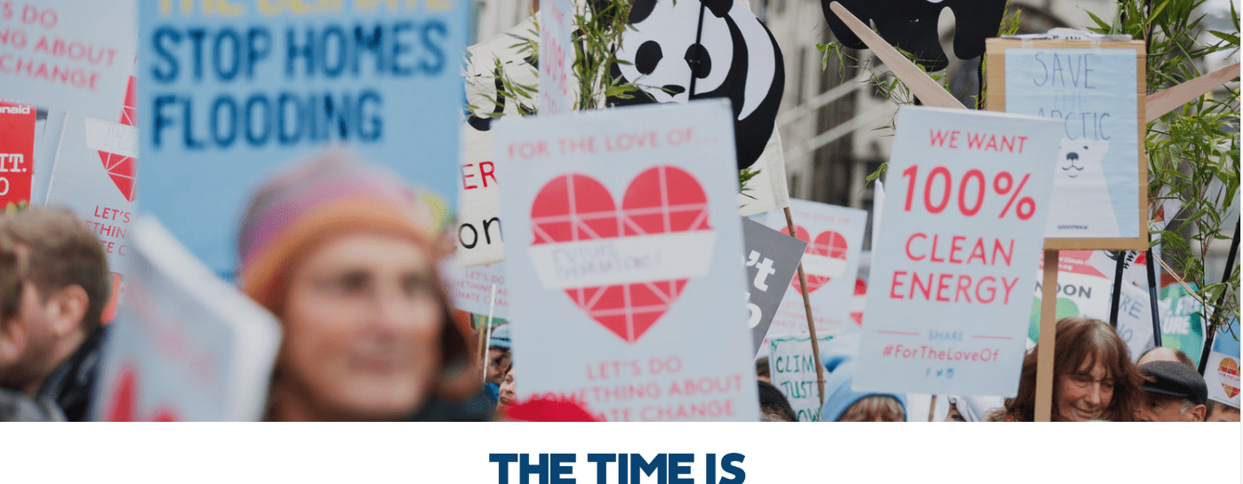 The Time Is Now - The Climate Coalition