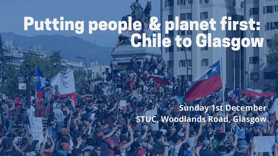 Putting people and planet first: Chile to Glasgow