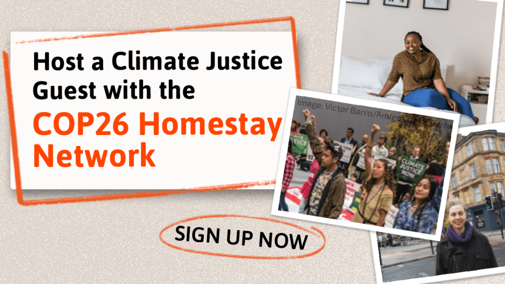 COP26 Homestay Network